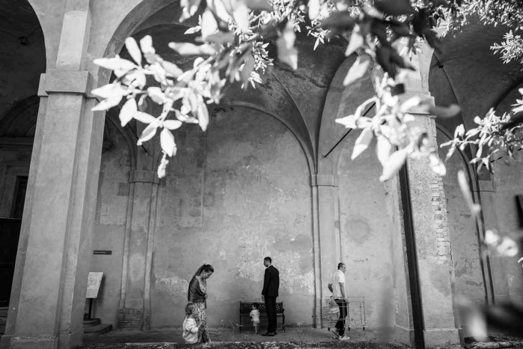 wedding photographer in certosa di pontignano siena