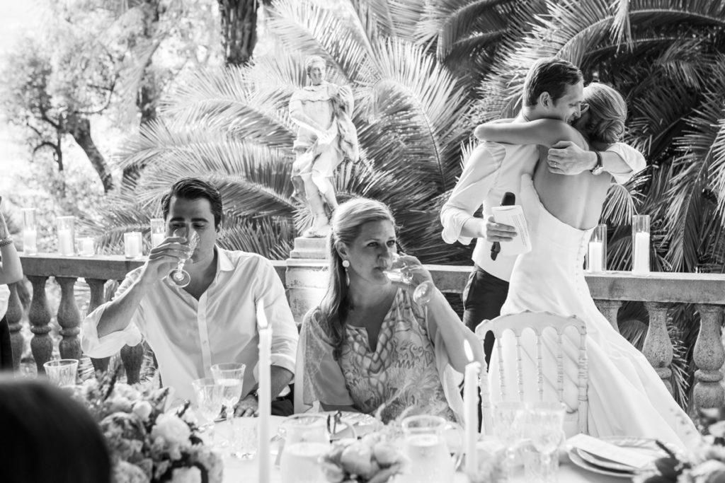 wedding party in santa maria ligure genoa