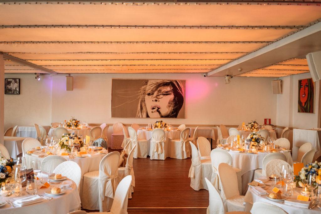 ristorante matrimonio Portofino ricevimento preparazione
