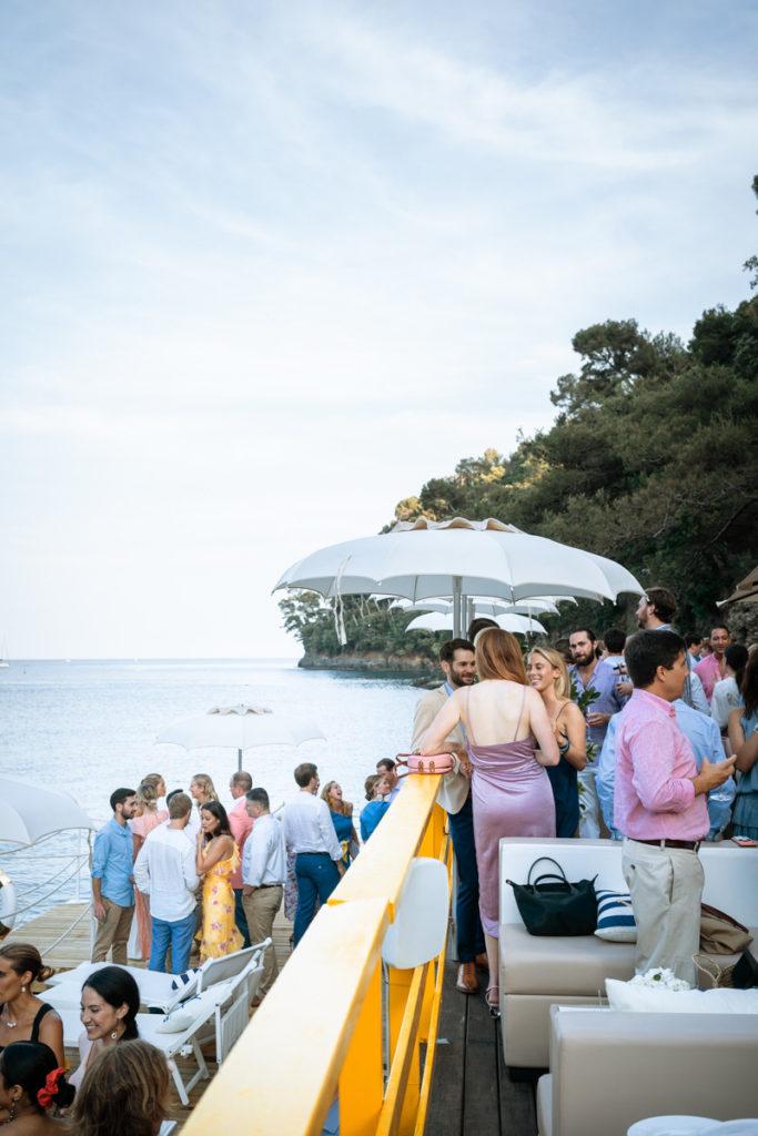 aperitivo sul mare ristorante matrimonio Portofino ricevimento