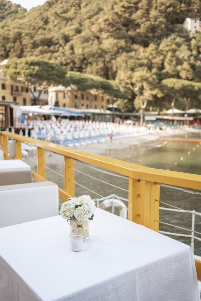 ristorante matrimonio Portofino ricevimento