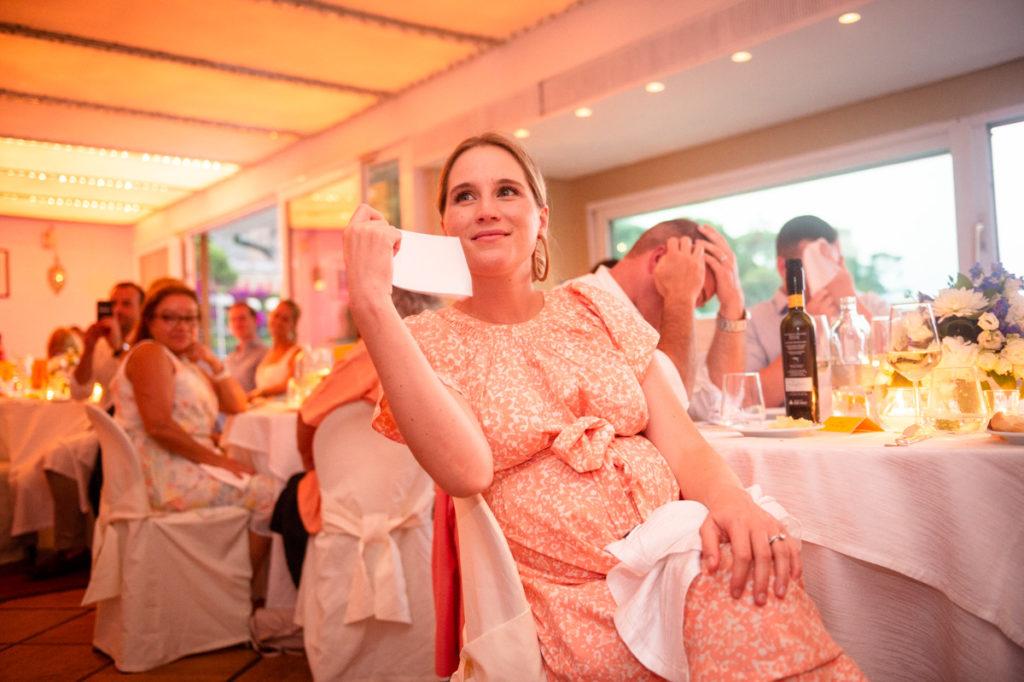 cena sala vista mare ristorante matrimonio Portofino ricevimento