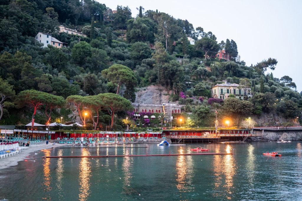 luci sera portofino ristorante matrimonio Portofino ricevimento