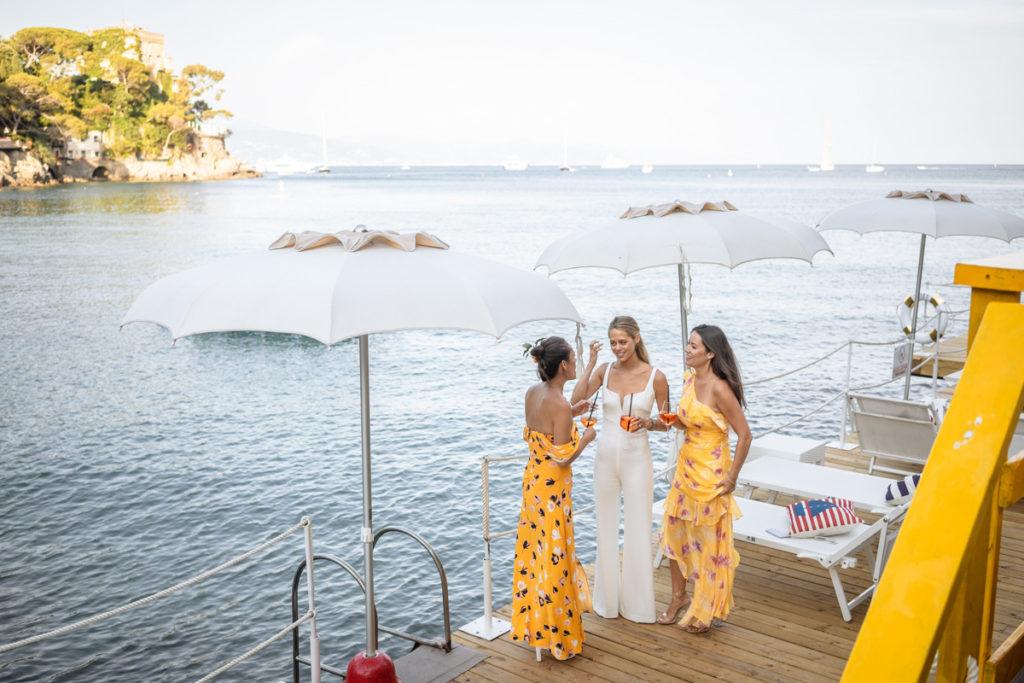 sposa con ristorante ristorante matrimonio Portofino ricevimento