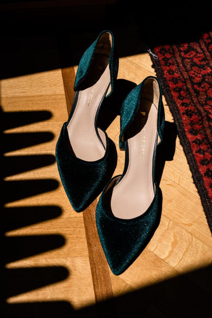 scarpe eleganti foto matrimonio sposa
