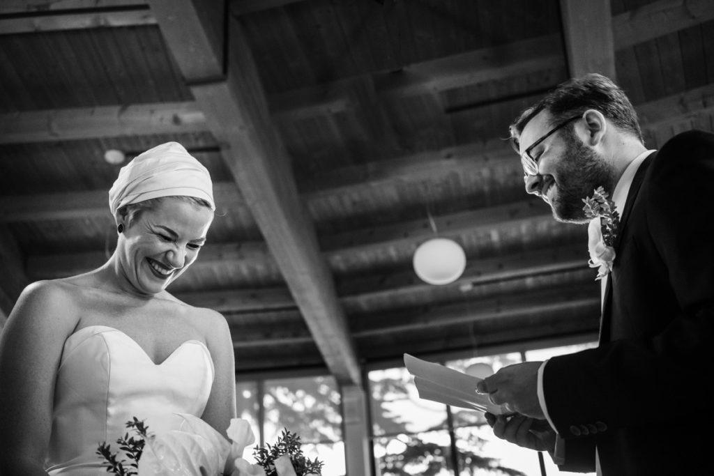sposi matrimonio lago di como divertente