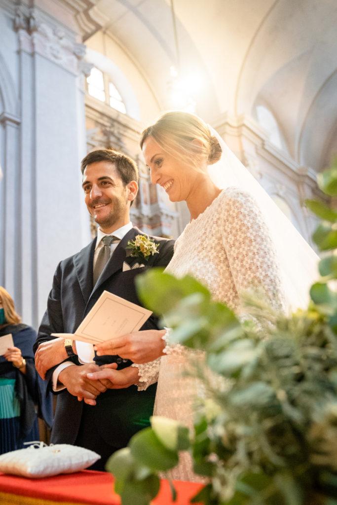 cerimonia Trento Italia fotografo matrimonio reportage lusso eleganza chiesa tradizionale sposa vestito Giuliani sposa sposo emozioni tramonto