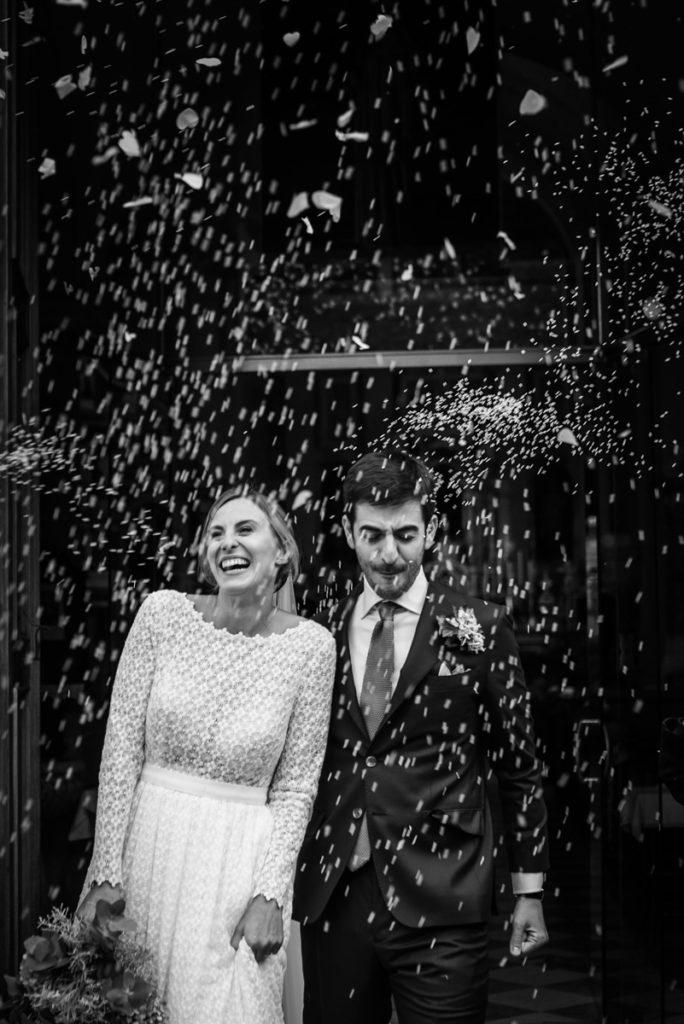 cerimonia Trento Italia fotografo matrimonio reportage lusso eleganza chiesa tradizionale sposa vestito Giuliani sposa sposo emozioni riso lancio emozioni