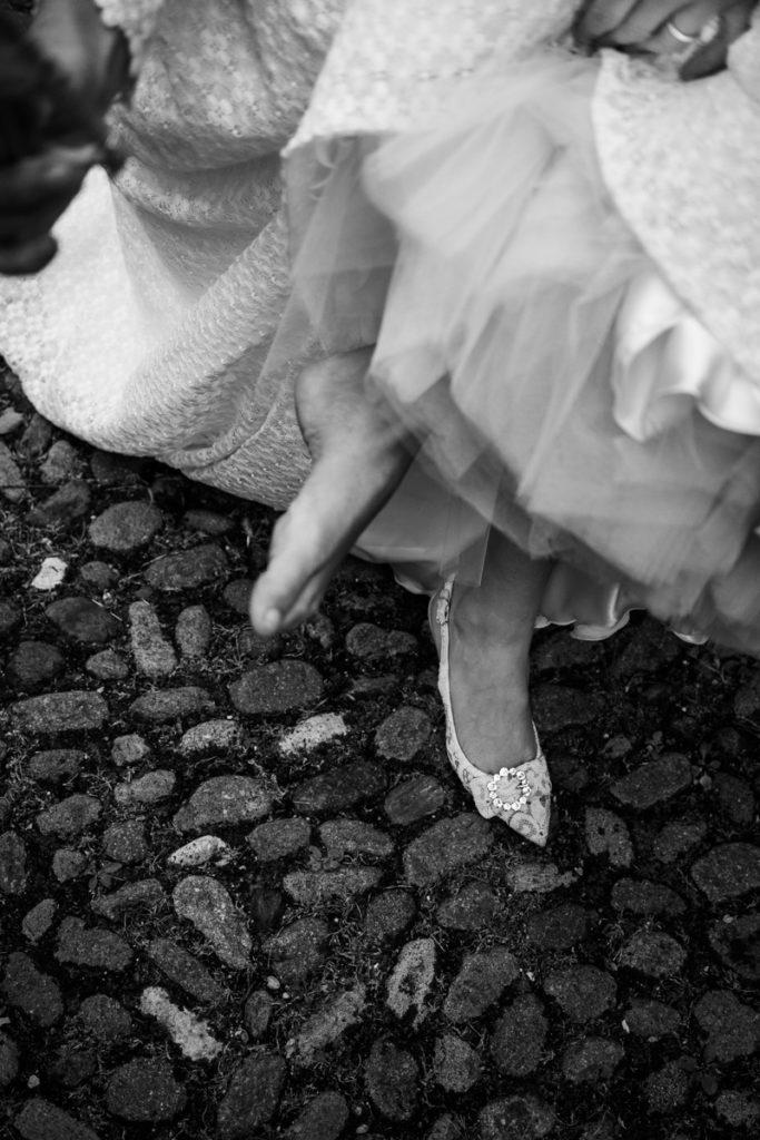 wedding Trento Italy Photographer reportage style bride best emotions photography photos top location luxury elegant kids kid Giuliani shoes D&G