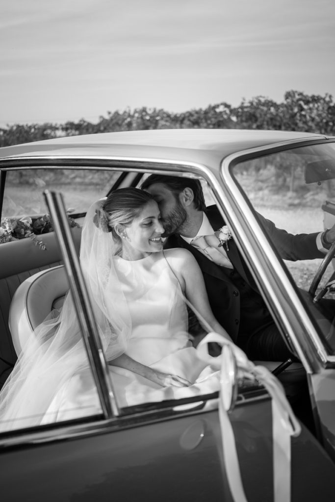 bride dress wedding top photographer Italy Piedmont emotional pictures moments special day flowers car vintage weddings luxury country Broglia wine Piccini