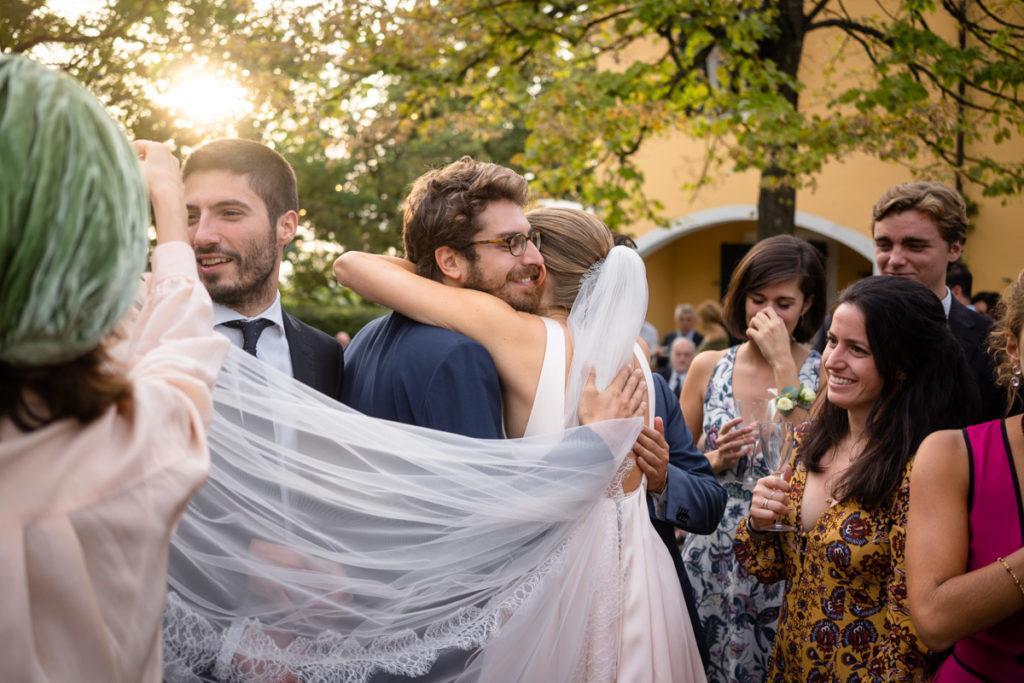 migliore fotografo matrimonio Italia Piemonte Gavi Villa Meirana Broglia vini cerimonia reportage invivtati lusso eleganza campagna abbracci tramonto aperitivo ricevimento