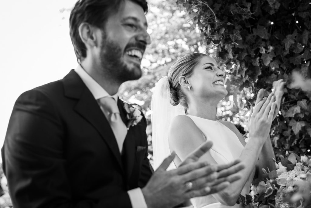 happiness emotions wedding best photograher Italy Piedmont reportage bride dress groom smiles photos bw capture cerimony Piccini